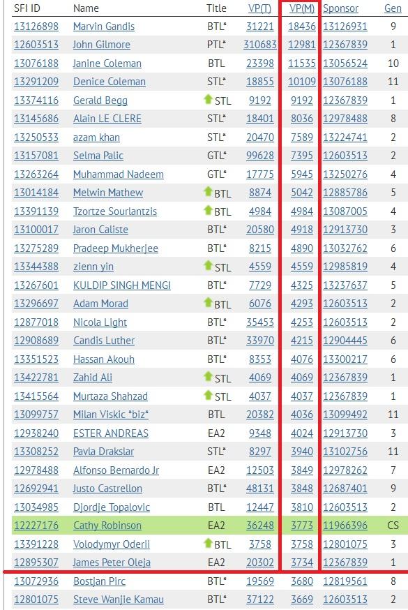 SFI Top 30 VPs November 18th