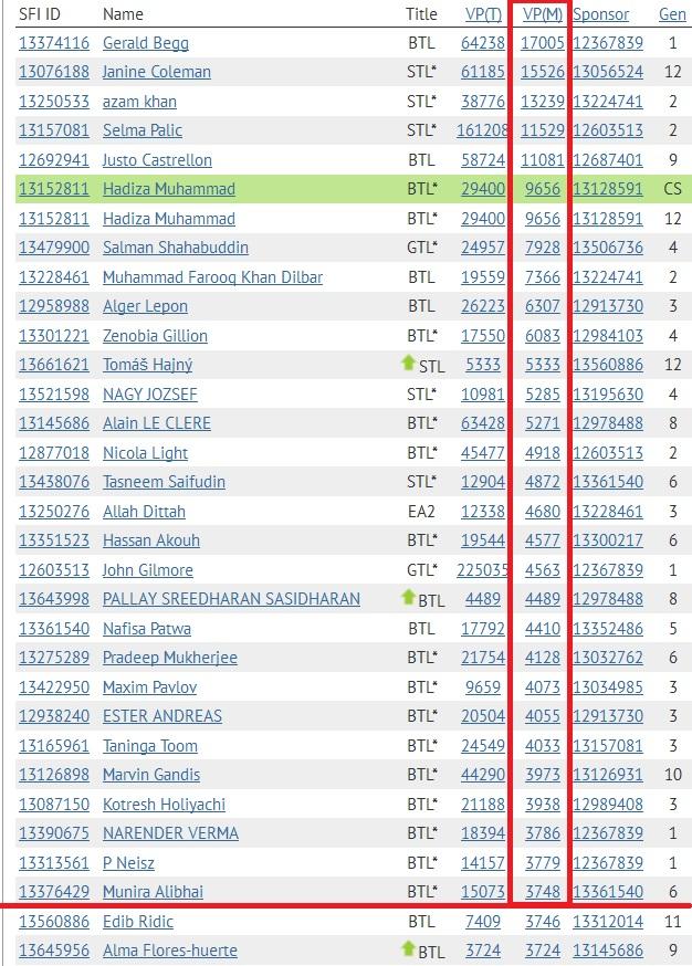 SFI Top 30 VPs January 20th - 2014