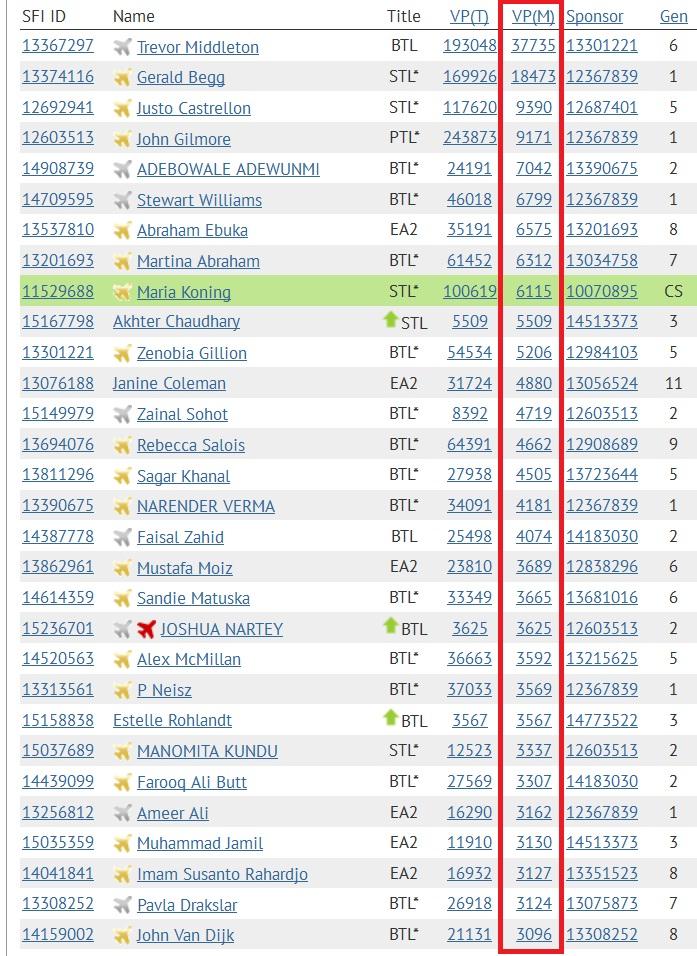 SFI - Top 30 VPs - DEC 11 2014