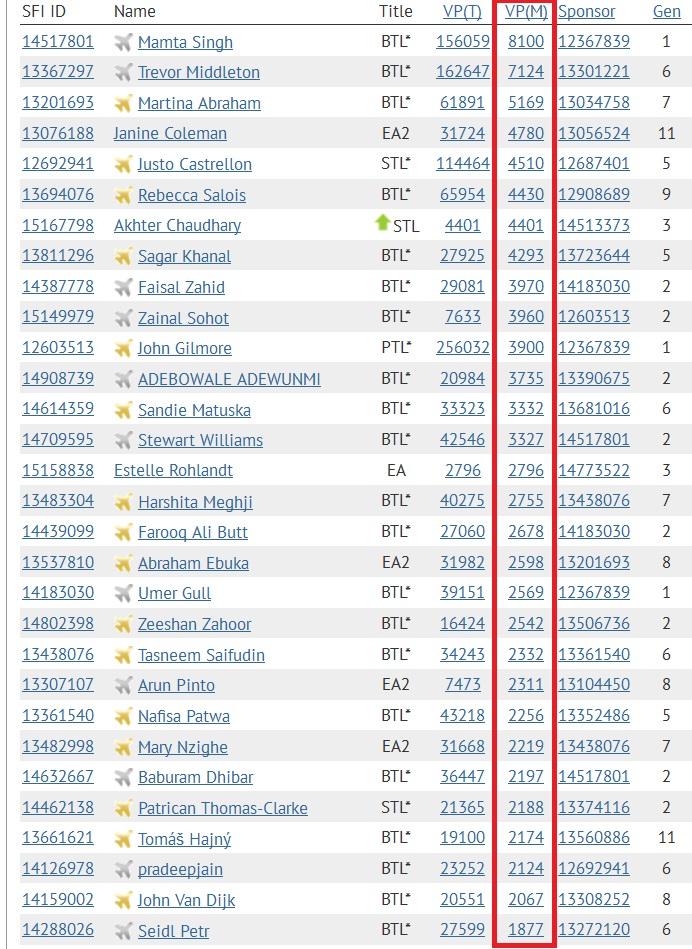 SFI - Top 30 VPs - DEC 5 2014