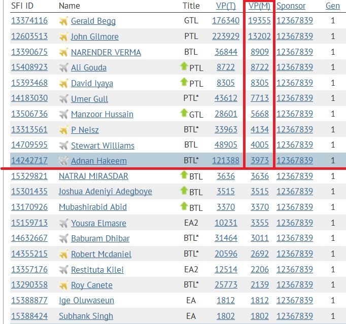 SFI - Top 10 VPs - Jan 27 2015
